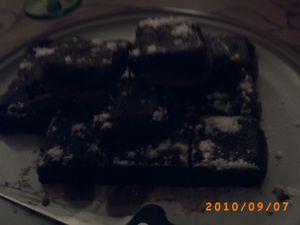 fondant au chocolat et aux noisettes 4