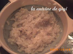 saumon à la sauce au vin blanc 3