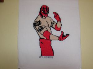 Rey Mysterio par Point de croix