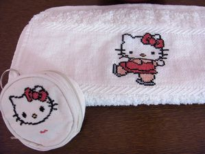 Hello Kitty patinage par Chantal