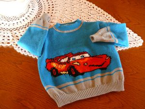 Pull cars pas Marcelle