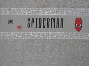 Spiderman par Nathalie
