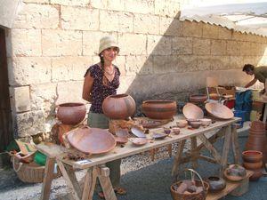 marché des potiers Beauronne