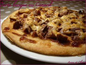tarte basque au canard