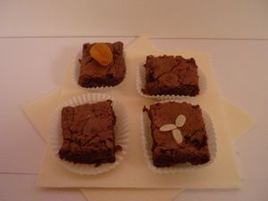 Brownies aux Fruist Secs