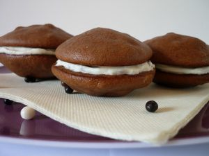 Whoopie pies cacaoté