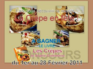 CONCOURS CREPE