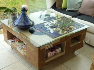 Table basse en carton cartonnath - Table basse en carton ...