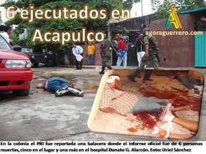 6 ejecutados Col PRI