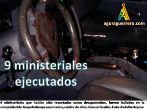 9 ministeriales asesinados
