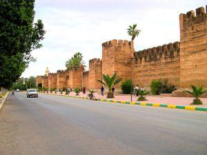 TAROUDANT-grande-muraille-de- taroudant-maroc