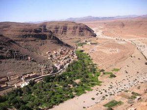 TAROUDANT_vue-panoramique-du-village-amtoudi-region-de-taroudant-maroc