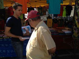 disctri tracts marché forain du chaudron