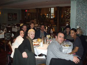 New cast members lunching in BR