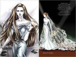 Twilight Saga Illustrated Guide - Bella's Wedding Dress