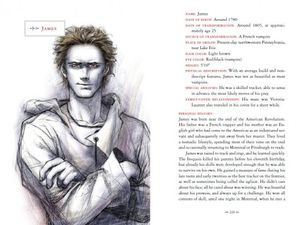 Twilight Saga Illustrated Guide - James' Bio