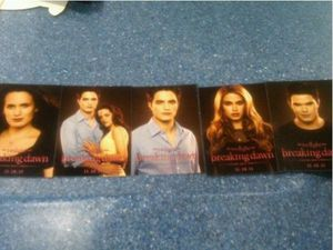 Breaking Dawn Promo Card - Various 2