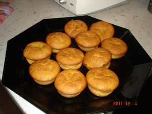 muffins au potiron Chantal