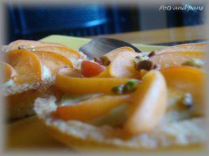 tartelettes pistache abricots4