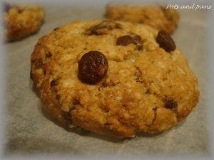 cookies avoine banane choc9