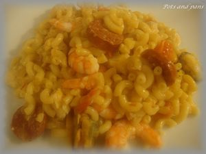 coquillettes paella15