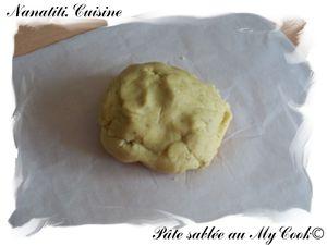 pâte sablée mycook
