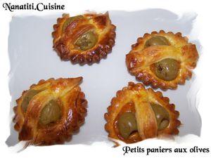 Petits paniers aux olives 2