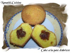 cake a la pâte d'abricot