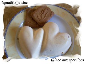 glace aux specullos