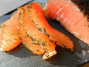 saumon seche