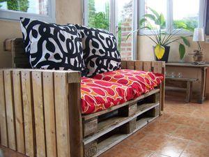 canap palette pour une veranda le blog de mazelin. Black Bedroom Furniture Sets. Home Design Ideas