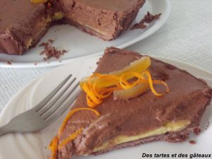tarte choc-orange 1 GF