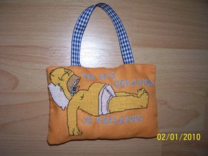 coussin pte homer