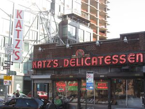 Katz's Deli, Lower East Side Manhattan