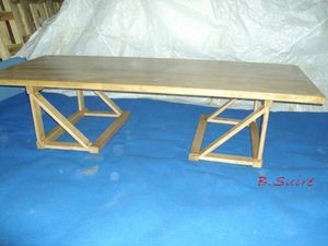 Table transformable 3