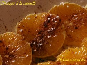 oranges cannelle