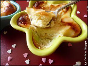 Moelleux ricotta mascarpone aux pommes le 04/09/10