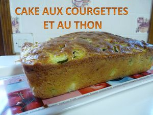 cake aux courgettes et au thon la maison de nathalie. Black Bedroom Furniture Sets. Home Design Ideas