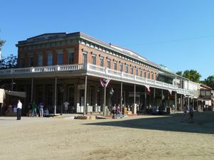 Sacramento, CA (Old Town, Gold Rush events) - 11