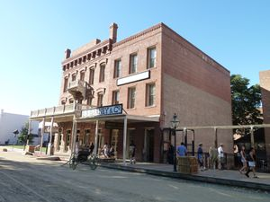 Sacramento, CA (Old Town, Gold Rush events) - 12