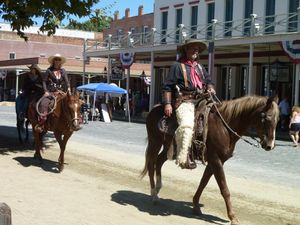 Sacramento, CA (Old Town, Gold Rush events) - 33