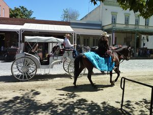Sacramento, CA (Old Town, Gold Rush events) - 34