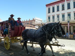 Sacramento, CA (Old Town, Gold Rush events) - 43