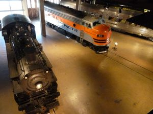 Sacramento, CA (Old Town, Railways Museum - 51