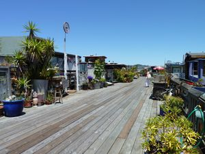 Sausalito houseboat Community - 15