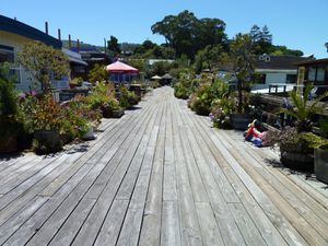 Sausalito houseboat Community - 19