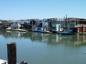 Sausalito houseboat Community - 28