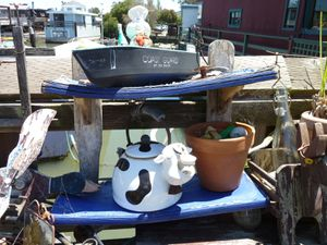 Sausalito houseboat Community - 29
