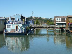 Sausalito houseboat Community - 59