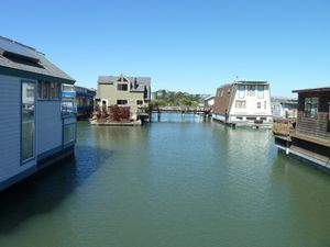 Sausalito houseboat Community - 61